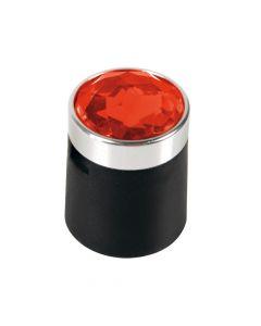 Colour Crystal, 20 copribulloni - Ø 19 mm - Rosso