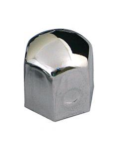 Chromed Caps, copribulloni in acciaio cromato - Ø 17 mm