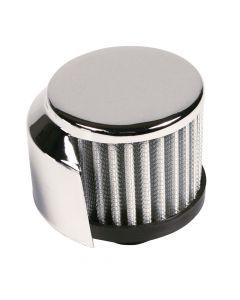Filtro aria cilindrico Ø 12 mm con protezione calore