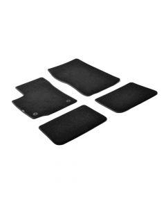 Set tappeti su misura in moquette - Nero -  Renault Twingo (06/07>08/14)