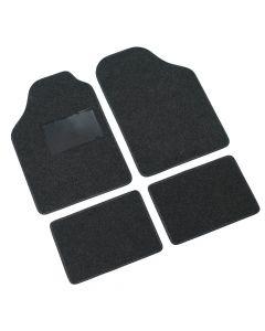 Supra, serie tappeti 4 pezzi - B - Antracite