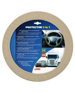 Protector 2 in 1, coprivolante elasticizzato - Beige