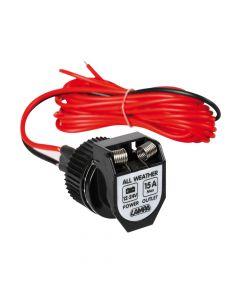 PX-2, presa corrente per uso esterno, 12/24V