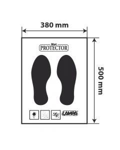 Protezione moquette in carta, dispenser 200 pz