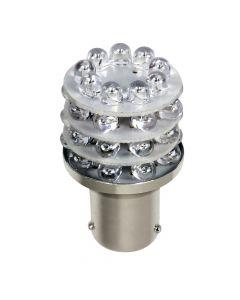 12V Lampada Multi-Led 36 Led - (P21W) - BA15s - 1 pz  - D/Blister - Arancio