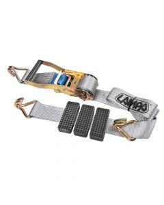 Nastro tensore bisarca, gancio singolo - 3200 Kg - 5x250 cm