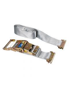 Nastro tensore con cricchetto - Gancio per carichi interni - 1,2+3 m