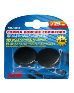 Coppia borchie copriforo in ABS - Ø 29 mm