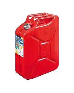 Premium, tanica carburante in metallo - 20 L - Rosso