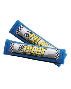 Pilot, coppia cuscini avvolgicintura - Blu