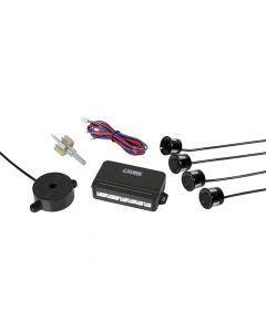 Buzzer F4, kit 4 sensori parcheggio anteriori, 12V