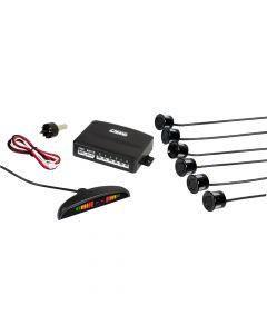 Setay S6, kit 6 sensori parcheggio con display digitale, 12V