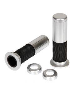 Tatoo, manopole in gomma e alluminio