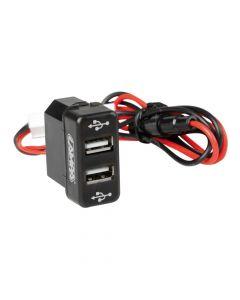 Original-Fit, doppia presa USB, 12/24V - Man