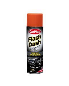 Flash Dash, pulitore per cruscotti, effetto lucido - 500 ml spray - Fragola