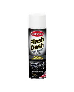 Flash Dash, pulitore per cruscotti, effetto lucido - 500 ml spray - Cocco