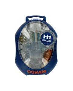 Kit Lampade Scorta Emergenza OSRAM 12V con H1
