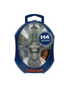 Kit Lampade Scorta Emergenza OSRAM 12V con H4