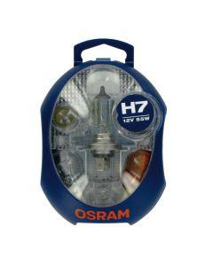 Kit Lampade Scorta Emergenza OSRAM 12V con H7