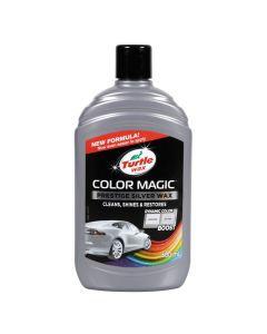 Color Magic, cera protettiva arricchita con colore - 500 ml - Argento
